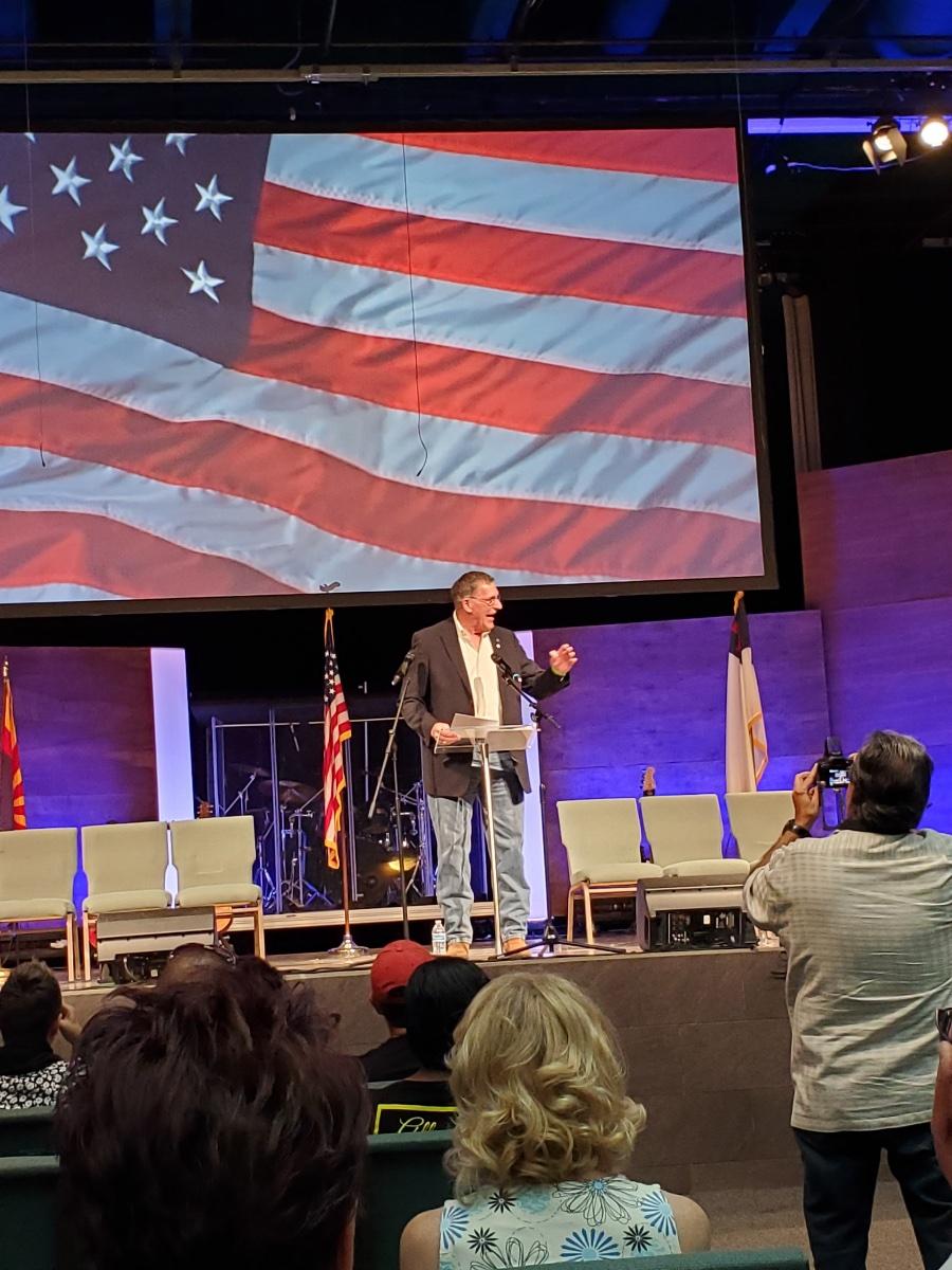 Dr. Lyle Rapacki, host of Arizona Today