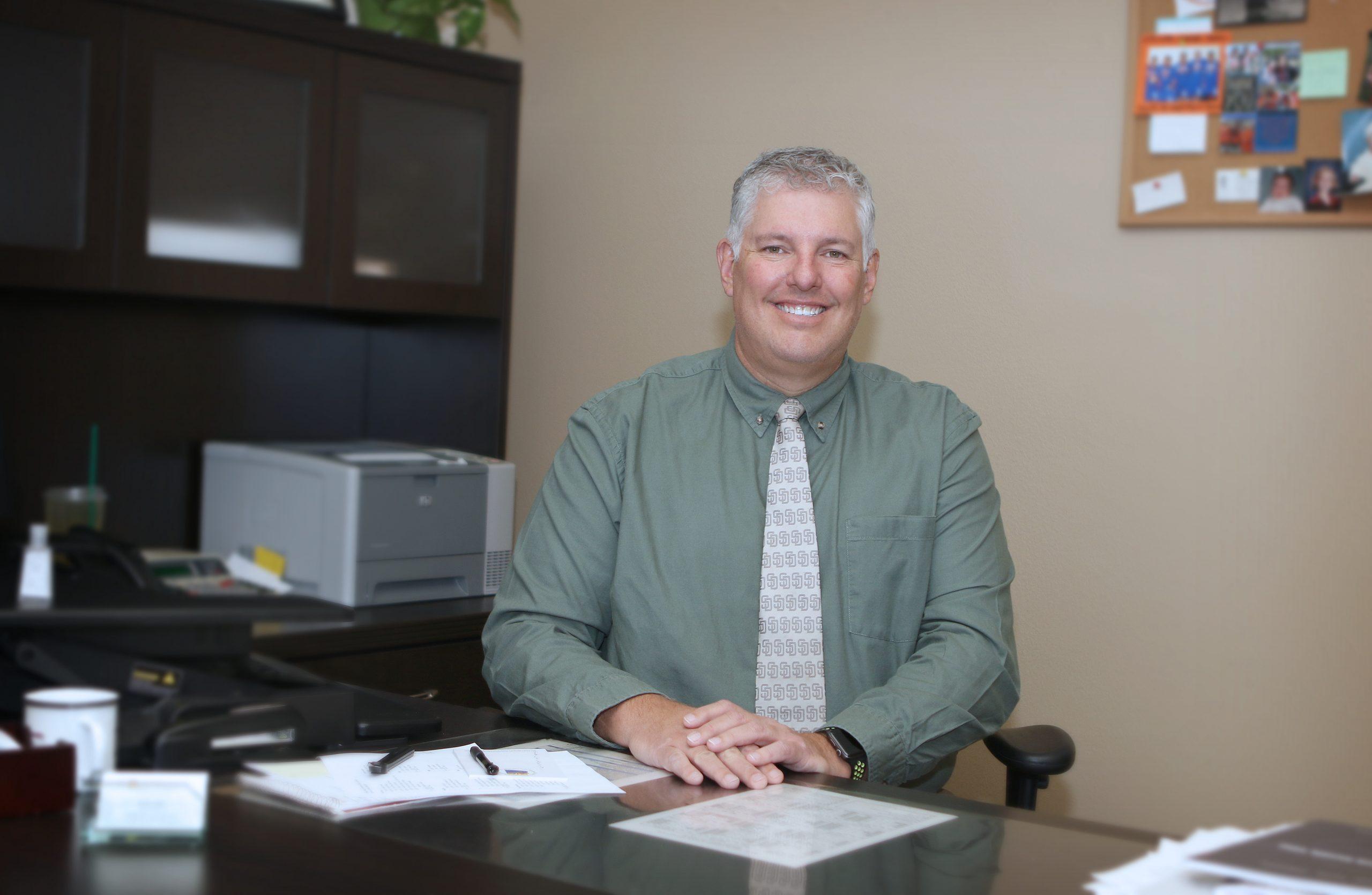 John Scholl, Superintendent, , Chino Valley Schools