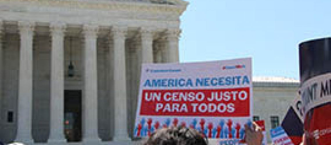 The Census Bureau estimated that including a citizenship question on the 2020 census form would decrease response rates by as much as 5.8%, a drop advocates say would hit especially hard in immigrant communities. (Photo by Miranda Faulkner/Cronkite News)